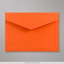 162x229 mm (C5) Orange V-flap Peel & Seal Envelope