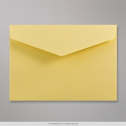 162x229 mm (C5) Yellow V-flap Peel & Seal Envelope