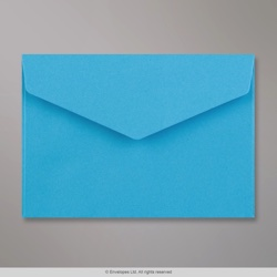 114x162 mm (C6) Blue V-flap Peel & Seal Envelope