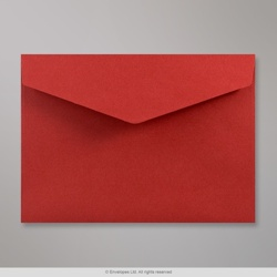 114x162 mm (C6) Dark Red V-flap Peel & Seal Envelope
