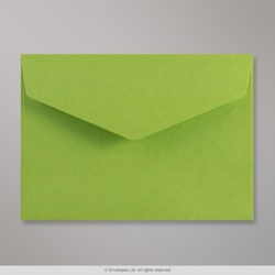 114x162 mm (C6) Green V-flap Peel & Seal Envelope