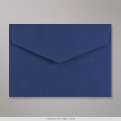 114x162 mm (C6) Navy Blue V-flap Peel & Seal Envelope