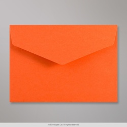 114x162 mm (C6) Orange Diamond Flap Envelope