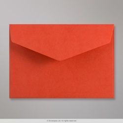 114x162 mm (C6) Red V-flap Peel & Seal Envelope