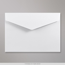 114x162 mm (C6) White V-flap Peel & Seal Envelope