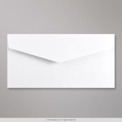 110x220 mm (DL) White V-flap Peel & Seal Envelope