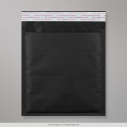 230x230 mm Black Kraft Bubble Bag