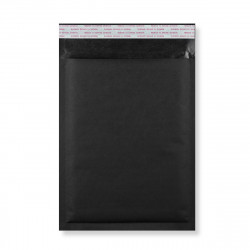 250x180 mm Black Kraft Bubble Bag