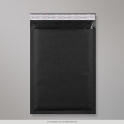 350x250 mm Black Kraft Bubble Bag