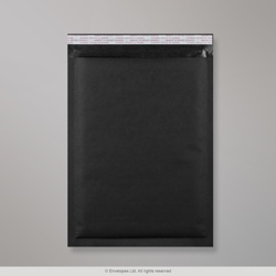 450x320 mm (C3) Black Kraft Bubble Bag