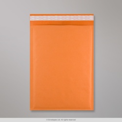 450x320 mm (C3) Orange Kraft Bubble Bag