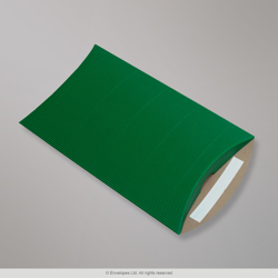 324x229+30 mm (C4) Green Corrugated Pillow Box