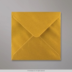 130x130 mm Metallic Gold Envelope
