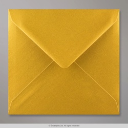 155x155 mm Metallic Gold Envelope