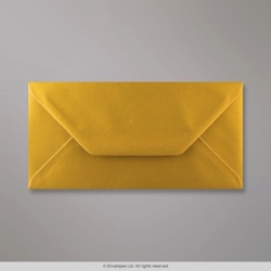 110x220 mm (DL) Metallic Gold Envelope