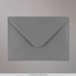133x184 mm Dark Grey Envelope, Dark Grey, Gummed