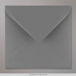 155x155 mm Dark Grey Envelope