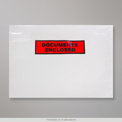 315x235 mm Clear Documents Enclosed Wallet - Printed