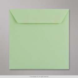 170x170 mm Kaskad Pale Green Coloured Envelope