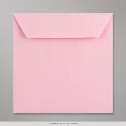 170x170 mm Kaskad Light Pink Coloured Envelope