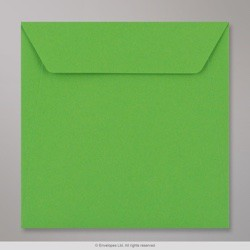 170x170 mm Kaskad Bright Green Coloured Envelope