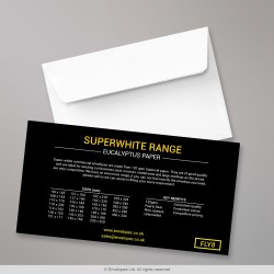 Super White Envelope Range - Flysheet