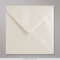 140x140 mm Oyster Lustre Envelope