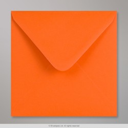155 x 155 mm Orange Clariana Briefumschlag