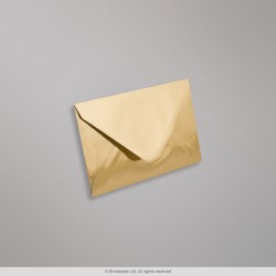 62x94 mm Gold Mirror Finish Envelopes