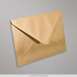 114x162 mm (C6) Gold Mirror Finish Envelopes