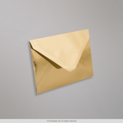 82x113 mm (C7) Gold Mirror Finish Envelopes