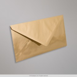 110x220 mm (DL) Gold Mirror Finish Envelopes