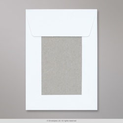 162x114 mm (C6) White Board-Back Envelope