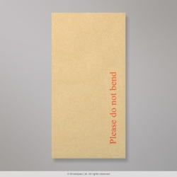 220x110 mm (DL) Manilla Board Back Envelope