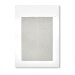 238x163 mm White Board-Back Envelope
