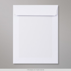 250x176 mm White Board-Back Envelope
