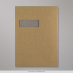 324x229 mm (C4) Manilla Board Back Envelope