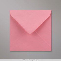 130x130 mm Pink Envelope, Pink, Gummed
