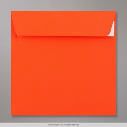 155x155 mm Orange Clariana Briefumschlag