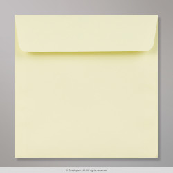 155x155 mm Clariana Pale Yellow Envelope