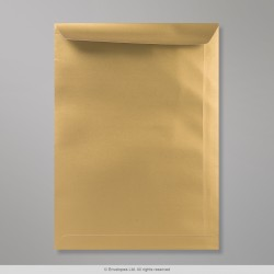 324x229 mm (C4) Gold Envelope, Gold, Peel and Seal