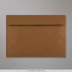 162x229 mm (C5) Clariana Mid Brown Envelope, Mid Brown, Peel and Seal