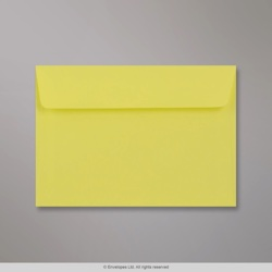 114x162 mm (C6) Clariana Pale Yellow Envelope