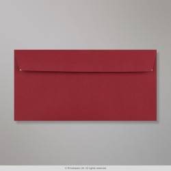 110x220 mm (DL) Clariana Dark Red Envelope , Dark Red, Peel and Seal