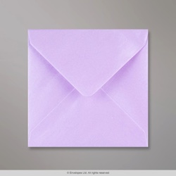 130x130 mm Lilac Lustre Envelope
