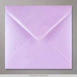 155x155 mm Lilac Lustre Envelope