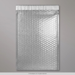 324x230 mm (C4) Translucent Gloss Metallic Bubble Bag