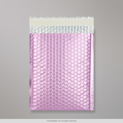 324x230 mm (C4) Lilac Metallic Matt Bubble Bag
