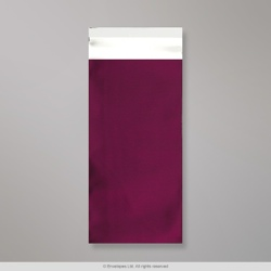 220x110 mm (DL) Burgundy Matt Foil Bag