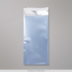 220x110 mm (DL) Ice blue Matt Foil Bag